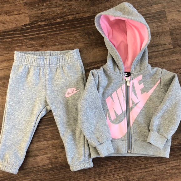 970ad1572 Nike Matching Sets | Baby Girl Sweatsuit Never Worn 12 Months | Poshmark